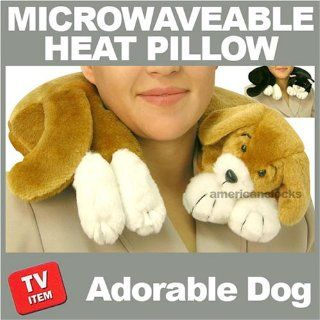 As Seen On TV Therapeutic Puppy Dog Heat Pillow: Health & Personal Care