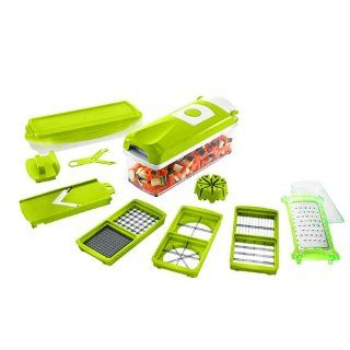 2013 New Genius Nicer Dicer Plus As Seen on TV Multi Chopper 12 Pieces: Kitchen & Dining