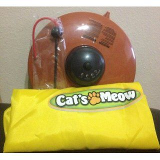 CAT'S MEOW   Cat Toy As Seen on TV   Undercover Mouse Exercise Toy : Pet Toys : Pet Supplies