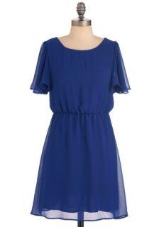 Cobalt Cabana Dress  Mod Retro Vintage Dresses