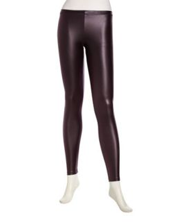 Liquid Leggings, Shiny Berry