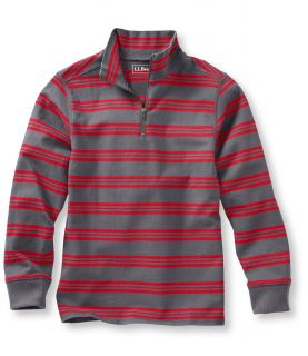 Boys Quarter Zip Pullover, Stripe