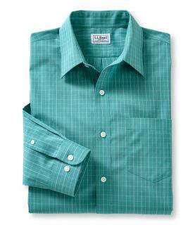 Wrinkle Resistant Mid Coast Shirt, Long Sleeve Check