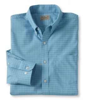 Mens Wrinkle Resistant Check Shirt Tall