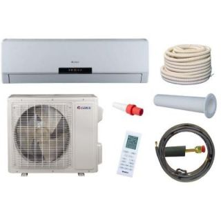 GREE Neo 18,000 BTU 1.5 Ton Ductless Mini Split Air Conditioner and Heat Pump Kit   208 230V/60Hz NEO18HP230V1AKIT