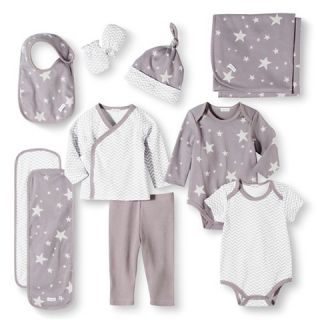 Baby Nay Baby Layette Sets   Casual Gray
