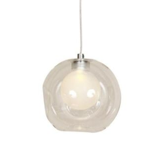 Control Brand Ringsted 1 Light Clear Glass Pendant LM571PGlass
