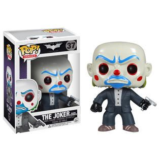 Funko 3373 Pop Heroes Dark Knight MOVIE Bank Robber   Toys & Games