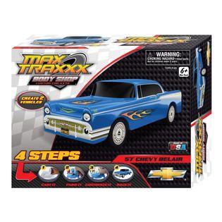 Skullduggery Max Traxxx Body Shop 57 Chevy Casting Kit   Toys & Games