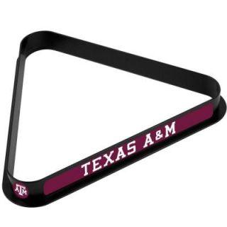Trademark 11.25 in. x 12.375 in. Texas A&M University Billiard Ball Triangle Rack LRG5000 TAMU