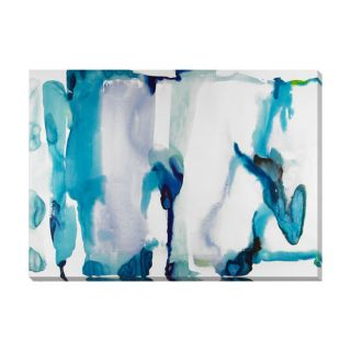 Wildon Home ® Water I by Kate Roebuck Painting Print on Canvas