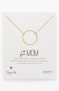 Dogeared  I Love You, Mom Mothers Day Boxed Pendant Necklace