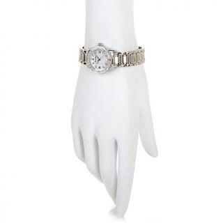 "Bulova ""Highbridge"" Ladies' Diamond Stainless Steel Bracelet Watch   7198571"