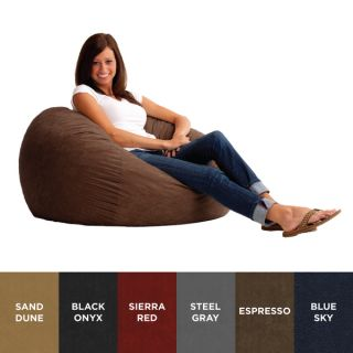 Christopher Knight Home Madison Faux Suede 5 foot Lounge Beanbag Chair