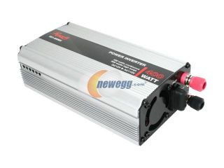 Rosewill RCI 400MS – 400 Watt DC to AC Power Inverter with Power Protection and Alarm