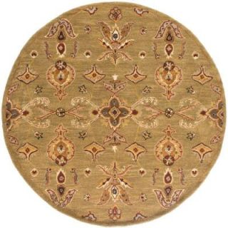 Artistic Weavers Middleton Grace Moss 8 ft. x 8 ft. Round Indoor Area Rug AWHR2047 8RD