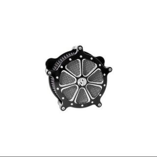 RSD Venturi Air Cleaner Speed 7 Platinum Fits 10 13 Harley Davidson FLTRX Road Glide Custom