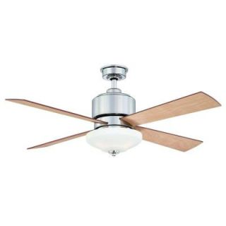 Hampton Bay Alida 52 in. Liquid Nickel Ceiling Fan YG222 LN