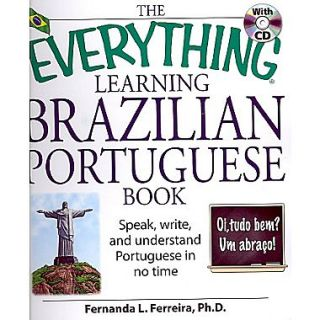 The Everything Learning Brazilian Portuguese Book Fernanda L. Ferreira Paperback