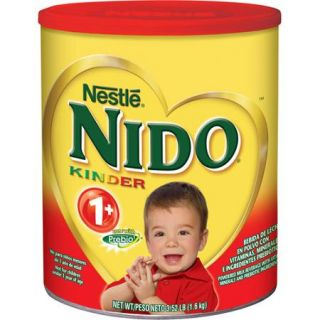 Nestle Nido Kinder 1+ Powdered Milk Beverage, 3.52 lbs