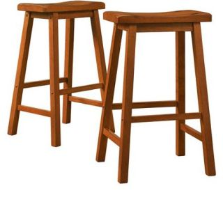 Ashby Bar Stools 29'', Set of 2, Oak