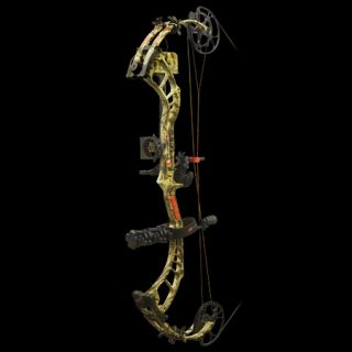 PSE Bow Madness 34 RTS Bow Package RH 70 lbs. Break Up Infinity