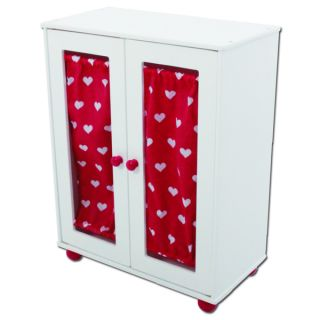 The New York Doll Collection Doll Armoire Closet   Shopping