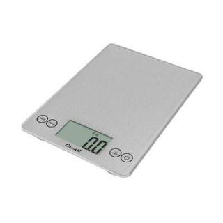 Escali Arti Glass Digital Food Scale in Shiny Silver 157SS