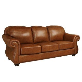 ABBYSON LIVING Arizona Top Grain Leather Sofa   Shopping