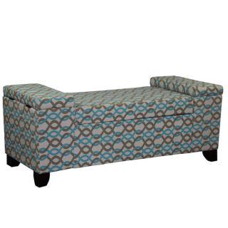 18.25H Gotcha Chain Link Storage Seating Bench   17617879
