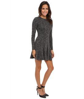 Nicole Miller Amber Heathered Flare Dress, Clothing