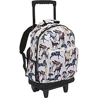 Wildkin Horse Dreams High Roller Rolling Backpack