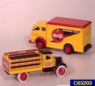 Coca Cola 133 Die Cast 1949 Delivery Truck Bank —
