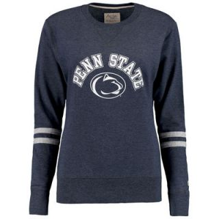 Penn State Nittany Lions Alta Gracia (Fair Trade) Womens Relaxed Fit Rosaura Pullover Fleece Sweatshirt   Navy
