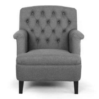 Jester Classic Retro Modern Contemporary Grey Fabric Upholstered