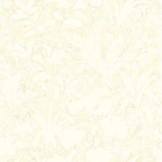 Brewster Home Fashions Artistic Illusion Fauna Silhouette Leaves 33' x 20.5'' Floral 3D Embossed Wallpaper