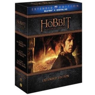 HOBBIT MOTION PICTURE TRILOGY (BLU RAY/HD ULTRAVIOLET/EXTENDED EDITION)