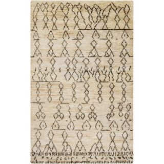 Hand Knotted Theodore Nature Jute Rug (5 x 8)