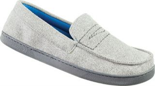 Mens Isotoner Heathered Microsuede Boater Moc