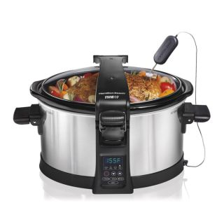 Hamilton Beach 33464 Set and Forget Programmable 6 quart Slow Cooker