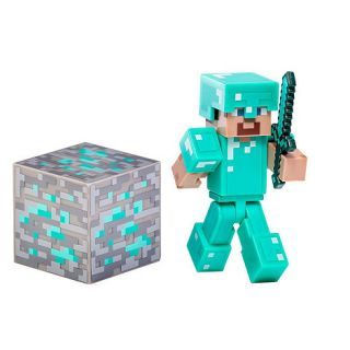Minecraft Diamond Steve Action Figure