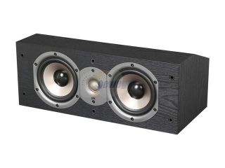 Polk Audio New Monitor 15C Two Way Center Channel Loudspeaker (Black) Single