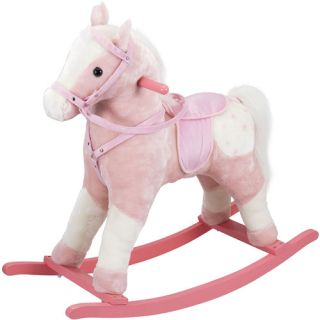 Applegate Farms Pink Rocking Horse