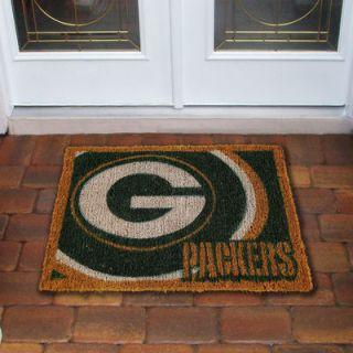 Green Bay Packers 18 x 30 Coir Welcome Mat