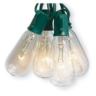 Sylvania Christmas String Light Set, Edison Bulb, Clear, 10 Ct. Model# V51587