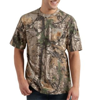Carhartt Men's Work Camo Short Sleeve T Shirt