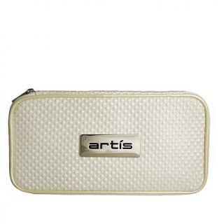 Artis Zippered Brush Case   Ivory   8098287
