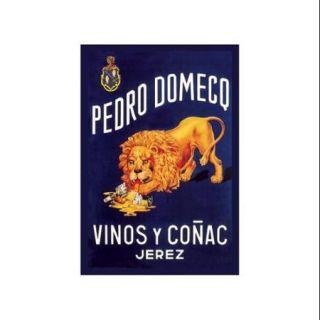 Pedro Domeco Vinos Y Conac Jerez Print (Unframed Paper Poster Giclee 20x29)