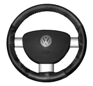 2015 Toyota Sienna Leather Steering Wheel Covers   Wheelskins Charcoal Perf/Black Perf 15 1/4 X 4 1/2   Wheelskins EuroPerf Perforated Leather Steering Wheel Covers