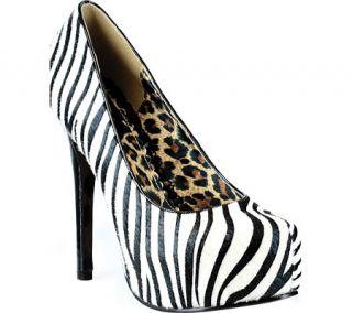 Womens Bettie Page Gabor   Zebra